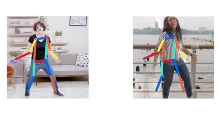 Hareketlerinizi başka görüntülerle eşleştiren yapay zeka: Move Mirror