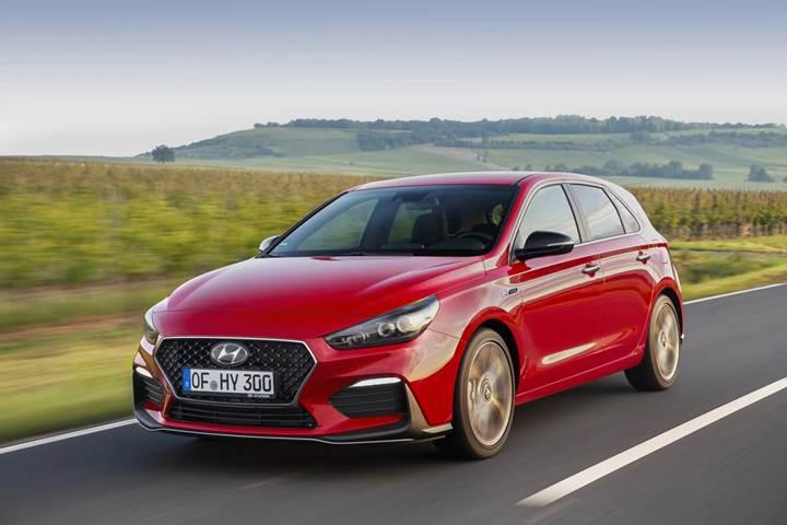 Hyundai, hot hatch görünümlü yeni modeli i30 N Line'ı duyurdu