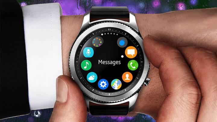 Galaxy Watch'un ekran boyutu ortaya çıktı