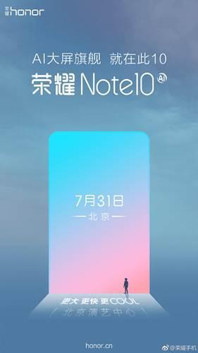 Honor Note 10'un lansman tarihi belli oldu