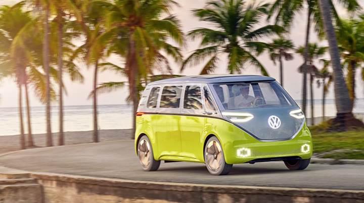 Volkswagen'in elektrikli mikrobüsü ve SUV'u ABD'de üretilecek