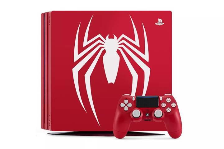 Sony'den Spider-Man temalı PS4 Pro
