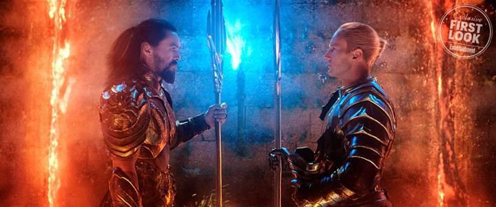 Aquaman'in ilk fragmanı Comic-Con'u salladı