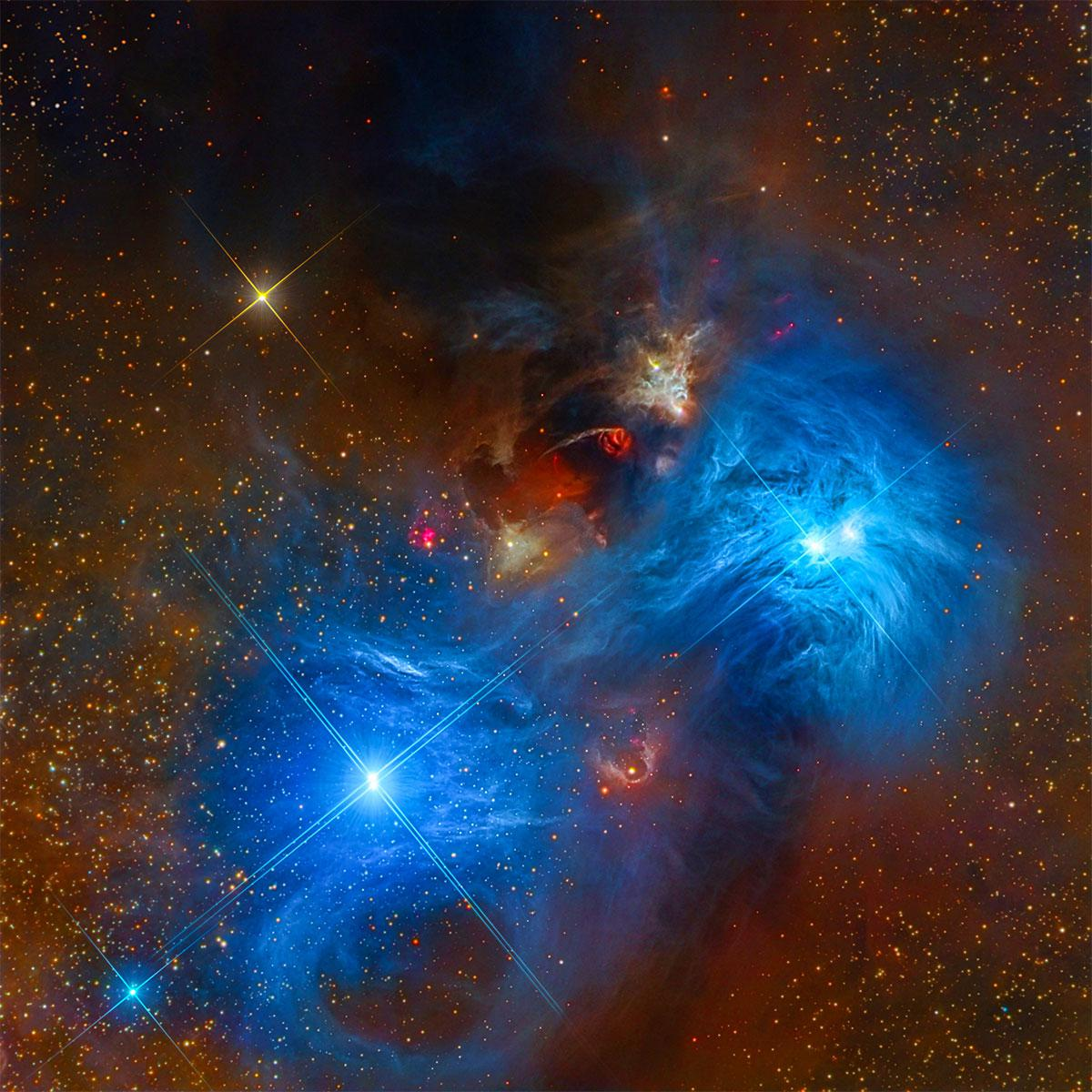 Evrenden müthiş manzaralar