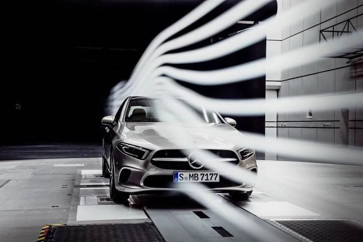 Yeni Mercedes A-Serisi Sedan, sınıfının en aerodinamik otomobili olacak