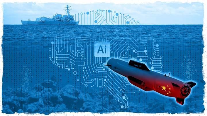 Çin, yapay zeka destekli denizaltısını 2020'de suya indirmeyi planlıyor