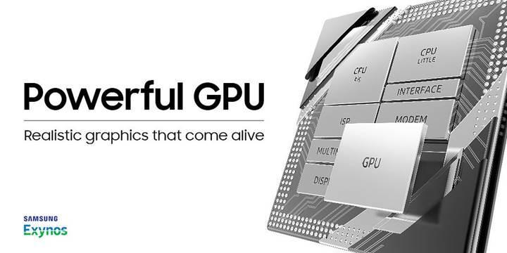 Samsung'un yeni grafik birimi çok ses getirecek