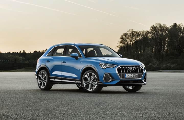 2019 Audi Q3, yeni teknolojileri ve daha dinamik tasarımıyla tanıtıldı
