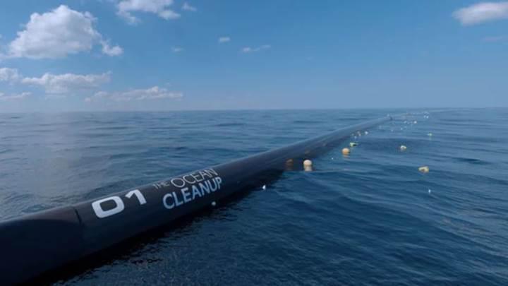 Okyanustaki çöpleri