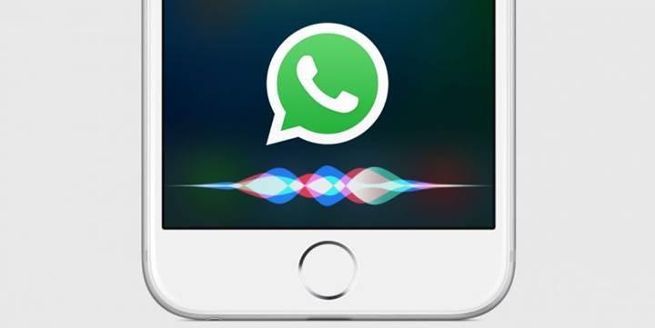 WhatsApp grup sohbetlerine artık Siri üzerinden mesaj gönderilebilecek