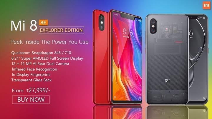 Xiaomi Mi 8 Explorer Edition sonunda satışa sunuluyor