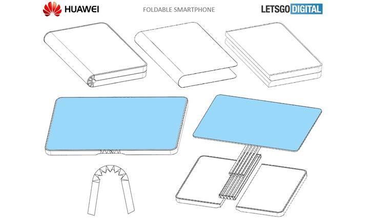 Huawei, Samsung'u sollayarak ilk katlanabilir akıllı telefonu piyasaya sürmeye hazırlanıyor