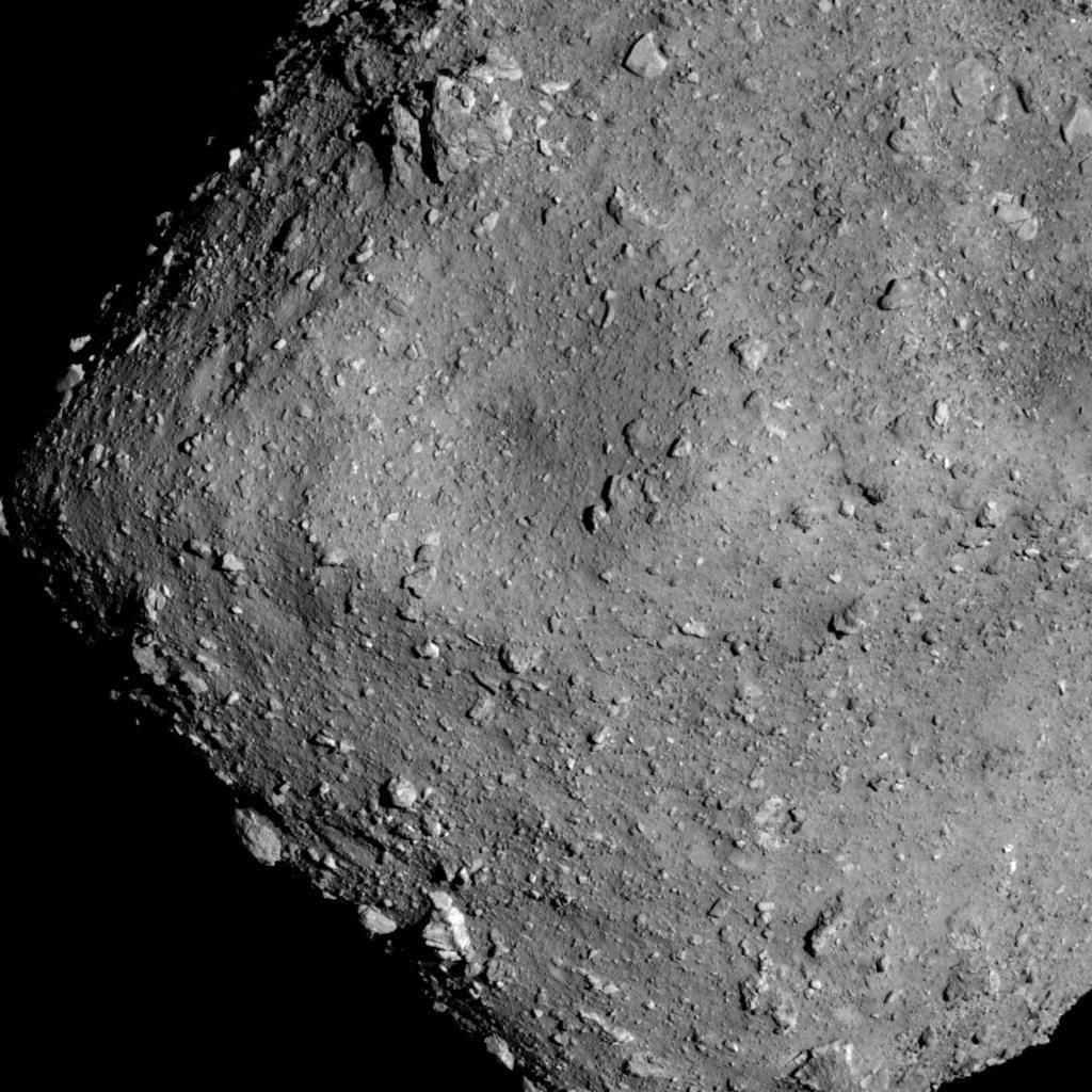 İşte Hayabusa'nın asteroit yörüngesinde yakaladığı fotoğraf