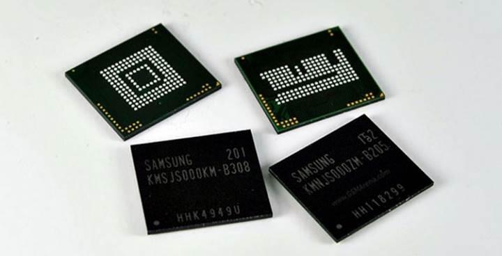 Samsung mobil cihazlar için ikinci nesil 8GB RAM yongalarını duyurdu