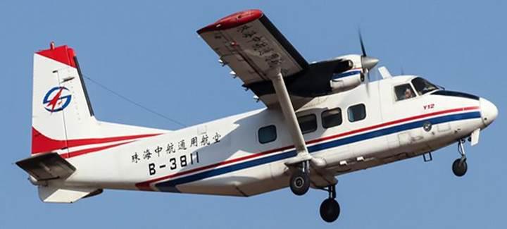 Çin'in yerli tasarım pervaneli uçağı kısa mesafe uçuşlarda kullanılmaya başlandı