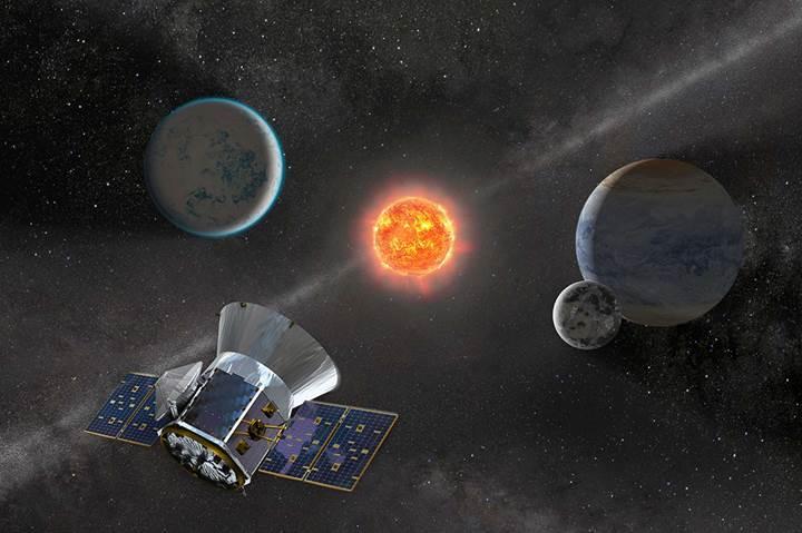 NASA'nın yeni nesil teleskobu TESS, gezegen avlamaya başladı