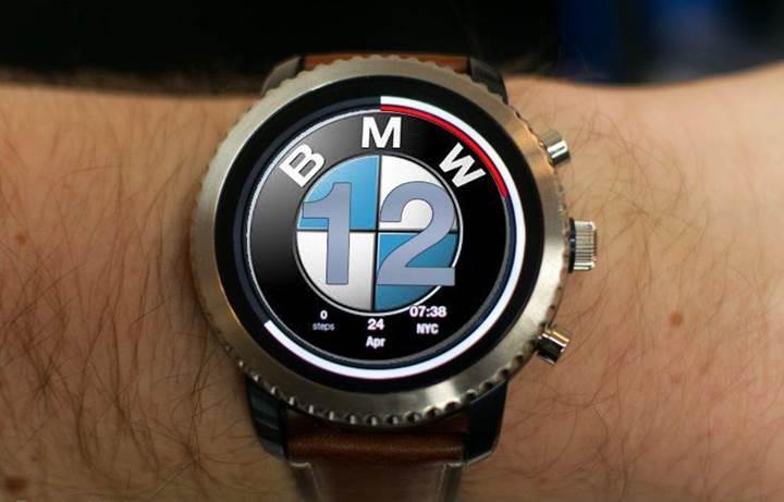 Fossil gelecek yıl BMW marka akıllı saat çıkaracak