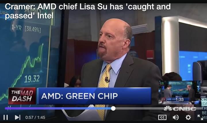 AMD'nin müthiş yükselişi l Piyasaya değeri en yüksek seviyede
