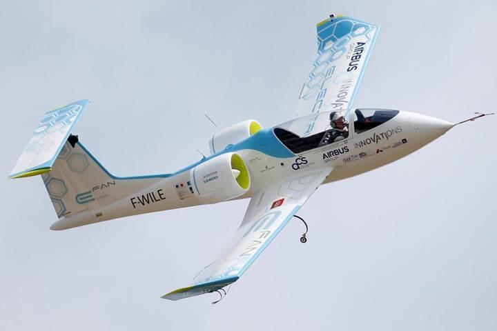 Elektrikli sivil havacılığın geleceği İskandinavya'da