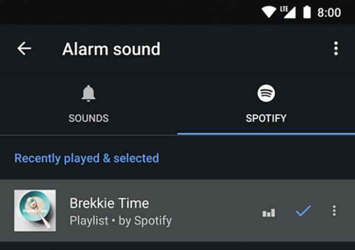 Google Clock'a Spotify desteği geldi! Artık alarmlarınızı Spotify parçalarınızla kurabileceksiniz