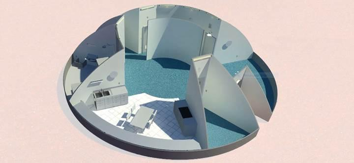 NASA'nın 'Mars evi' yarışmasında finale kalan 5 tasarım