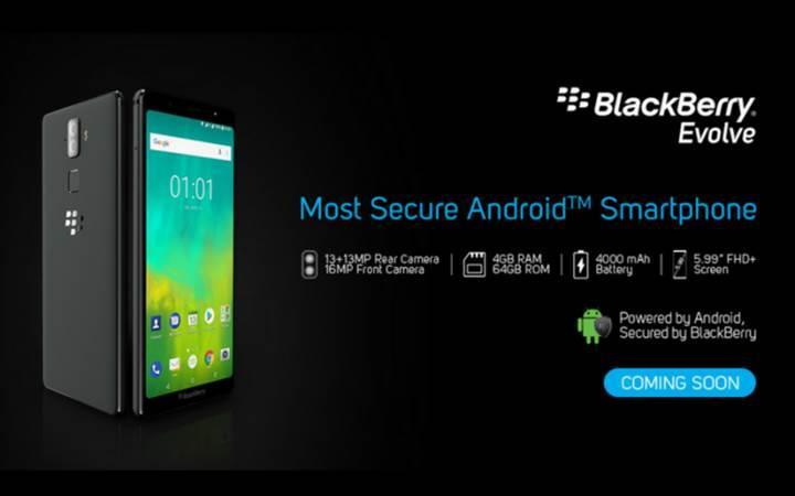 BlackBerry Evolve ve Evolve X tanıtıldı
