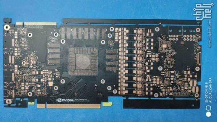 GeForce GTX 1180'e ait baskılı devre kartı sızdırıldı