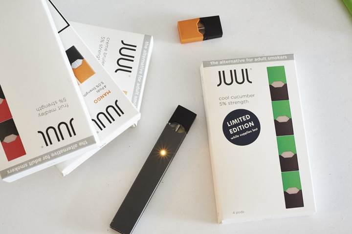 Elektronik sigara şirketi Juul, çocuk içicileri engellemek için ürünlerine Bluetooth teknolojisini entegre edecek
