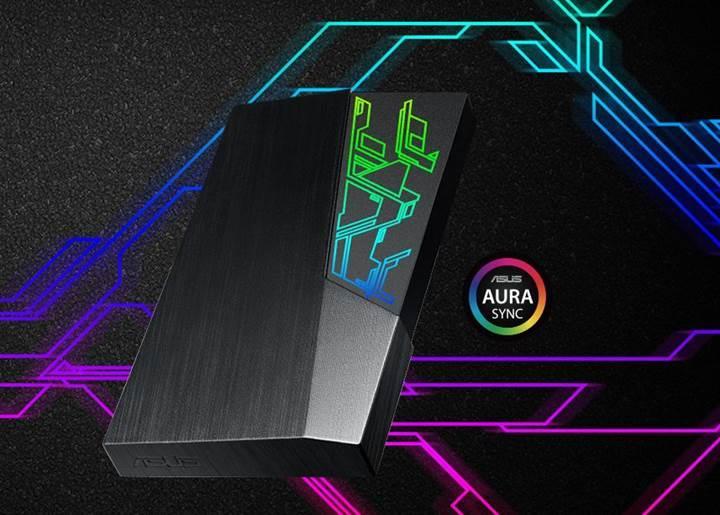 ASUS, RGB ışıklandırmalı FX serisi harici disklerini duyurdu