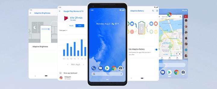 Android 9 Pie yayınlandı! İşte Android 9 yenilikleri