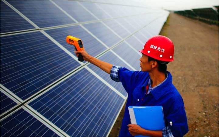 Çin, 2018'in ilk altı ayında 24.3 GW'lık güneş enerjisi tesisi kurdu