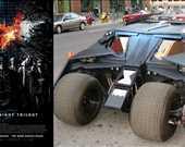 Film: The Dark Knight Trilogy/Kara Şovalye Üçlemesi<br/>Araç: Batmobile