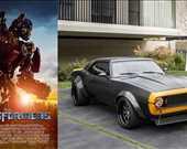 Film: Transformers<br/>Araç: 1977-2009 Chevy Camaro Concept