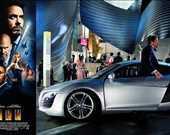 Film: Iron Man/Demir Adam<br/>Araç: 2007 Audi R8 4.2 FSI Quattro