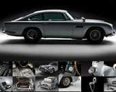 Film: James Bond filmleri<br/>Araç: 1964 Aston Martin DB5