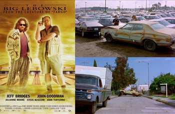 Film: The Big Lebowski/Büyük Lebowski<br/>Araç: 1973 Ford Gran Torino