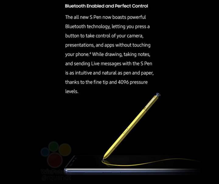 Galaxy Note 9'un S Pen, kamera ve DeX modunun özellikleri detaylandırıldı
