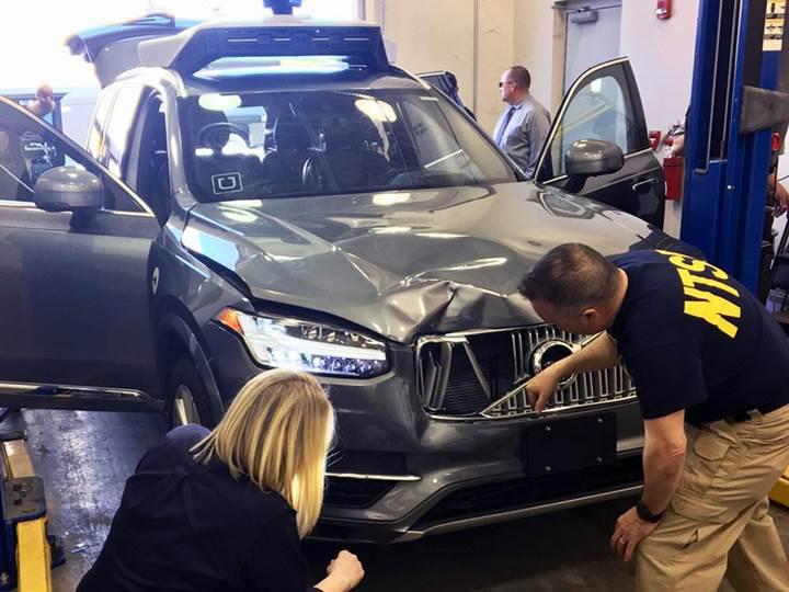 IIHS'nin raporuna göre Uber'in kazası Volvo'nun teknolojileriyle önlenebilirdi