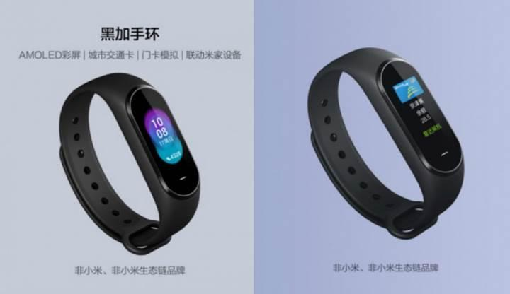 Xiaomi'den dolaylı olarak yeni bir fitness bilekliği daha