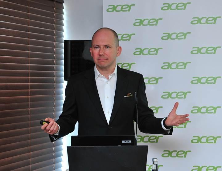 """Acer tüketicilere """"değer"""" sunmaya odaklanıyor"""