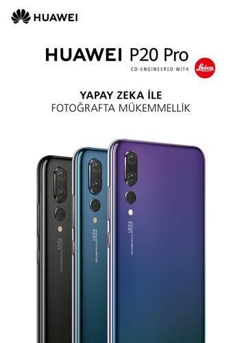 Huawei P20 Pro ile yapay zekâ cebinizde