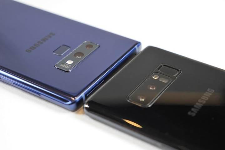 Galaxy Note 9 vs Galaxy Note 8 karşılaştırması