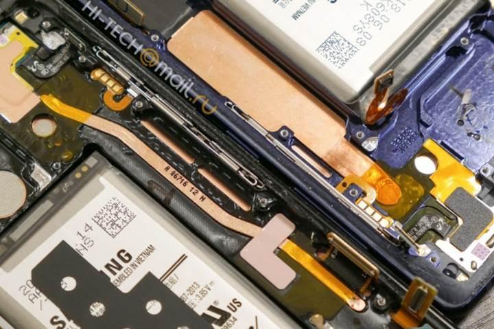 Galaxy Note 9 parçalarına ayrıldı