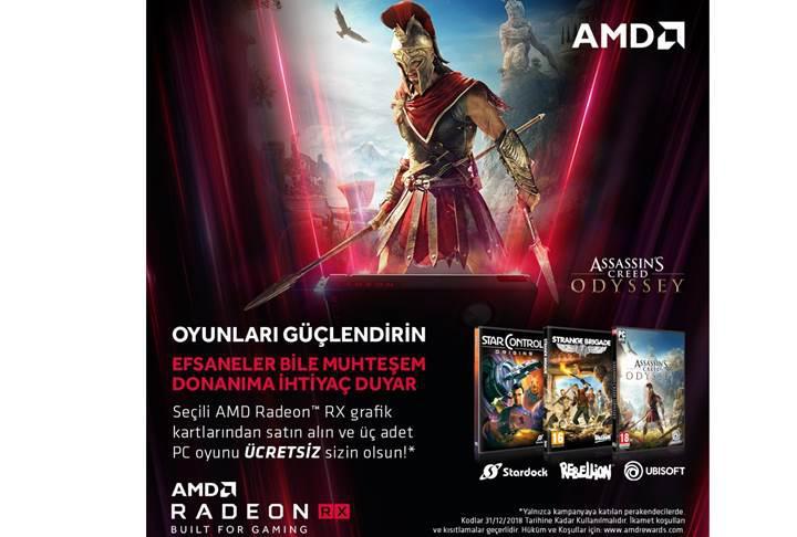 AMD ekran kartlarında önemli oyun hediyeleri
