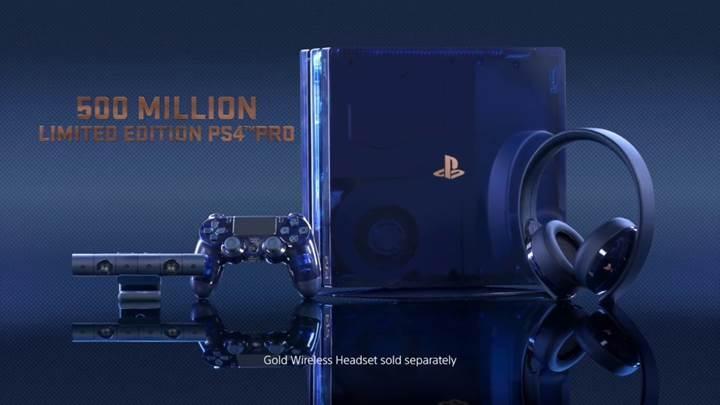 500 milyon PlayStation anısına sınırlı sayıda 2TB PS4 Pro
