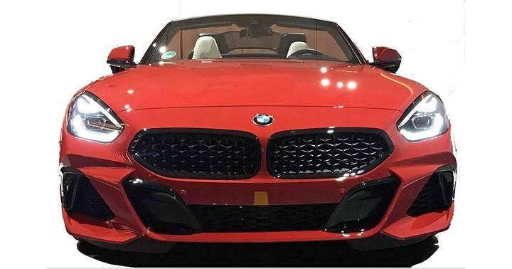 2019 BMW Z4'ün tasarımına ait görseller sızdırıldı