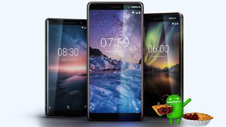Nokia, tüm akıllı telefonlarının Android Pie güncellemesi alacağını doğruladı