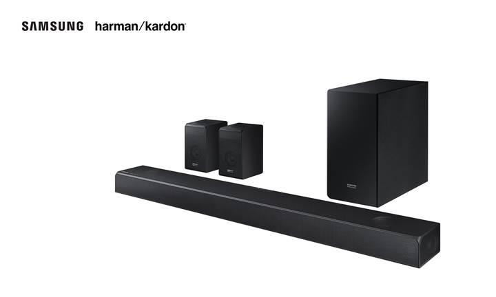 Samsung'dan üst seviye Harman ses sistemleri