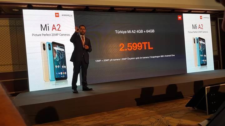 Xiaomi Mi A2'nin Türkiye fiyatı belli oldu!