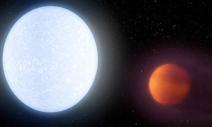 Bir ötegezegenin atmosferinde ilk kez demir keşfedildi